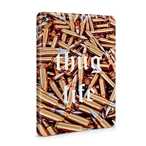 Thug Life Military Ammunition Weapons Golden Bullets Dünne Rückschale aus Hartplastik für iPad Mini 4 Tablet Hülle Schutzhülle Slim Fit Case Cover (Mini Case Bandana Ipad)