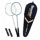 Best Badminton Rackets - Senston Badminton Racket Set S-300 Graphite Full Carbon Review