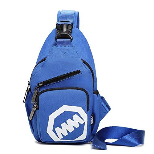 Borsa/ petto di onda coreana Pack/Moda donna borsa a tracolla/Diagonale tela Pocket man-F F