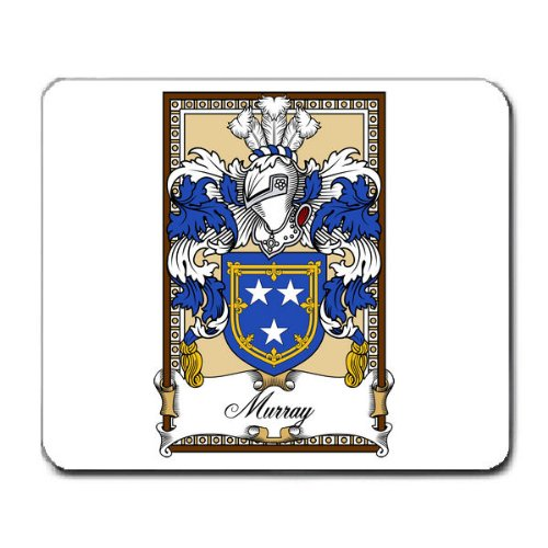 murray-family-crest-coat-of-arms-mouse-pad