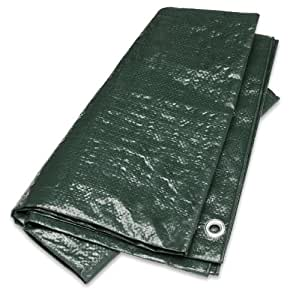 Gelert Ripstop Groundsheet - Dark Green, 8X6ft