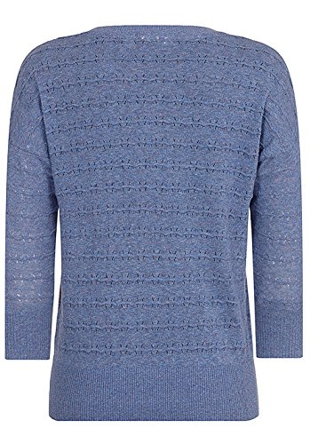 Naketano Female Knit Tittenalarm Fancy Blue Melange