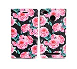 Sharp Icon Fancy Printed Designer Leather Flip Wallet Back Cover Case for Xiaomi Redmi 3S Prime