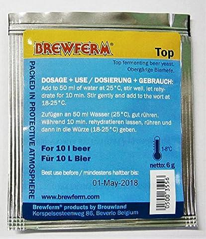Levure de bière - Brewferm Top – Levure de bières IPA, Pale Ale, Bitter, Stout | Levure de haute fermentation | Homebrew | Levure de brewing - Ipa Birra