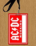 ACDC Working Replica Backstage Durchlauf With lanyard