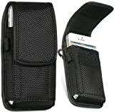 Universal Hard Nylon Holster Case Pounch With Belt loop Carabiner for iphone 3G 4G 4S 5G