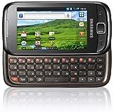 Samsung Galaxy 551 I5510 Smartphone (8,1 cm (3,2 Zoll) Touchscreen und QWERTZ-Tastatur, 3 Megapixel Kamera) ebony-black