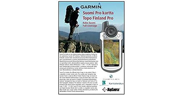 Garmin Topo Finland Pro Country Wide Dvd 010 11287 00 Country