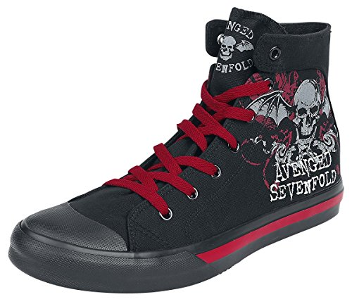 avenged-sevenfold-floral-deathbat-sneakers-black-eu38