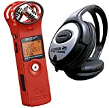 Zoom H1 RD Red Edition V2.0 Stereo Recorder MP3 Wav