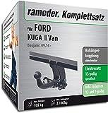 Rameder Komplettsatz, Anhängerkupplung abnehmbar + 13pol Elektrik für Ford KUGA II Van (136107-13357-2)