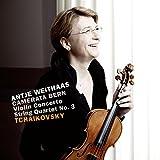 Tschaikowsky: Violinkonzert/Streichquartett op.30 (für Streichorchester)
