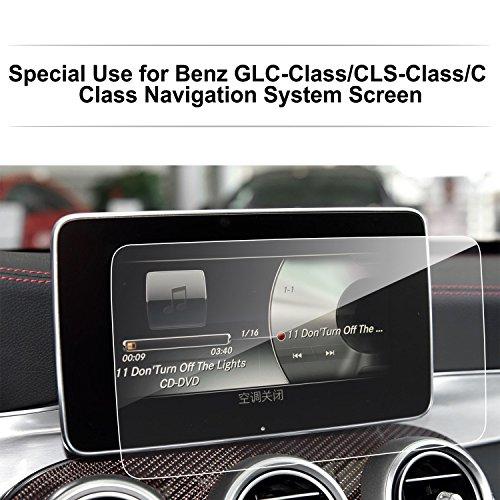 Preisvergleich Produktbild LFOTPP Mercedes GLC/GLC Coupe/C-Klasse/V-Klasse/CLS / AMG 8,4 Zoll Navigation Schutzfolie - 9H Kratzfest Anti-Fingerprint Panzerglas