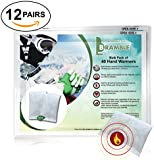 12 Pack Sets - Premium Hand Warmers, Toe Warmers or Body Warmers to ensure Maximum Warmth & Comfort in Winter (Please choose below)