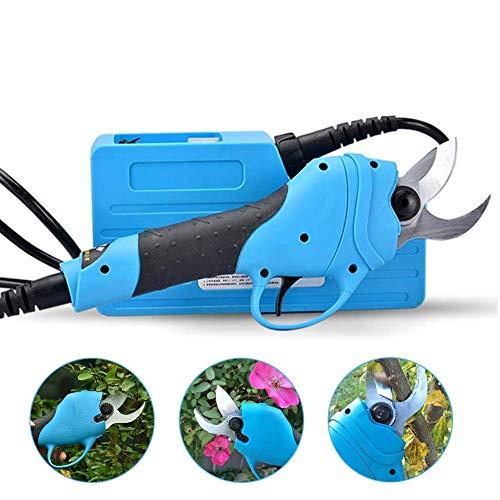 Cesoie elettriche, taglio giardino professionale all'interno di 3cm di diametro, batteria al litio wireless 36V4Ah/144Wh incontra 8-10 ore di lavoro orario