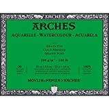 #4: Arches Water Colour Block, 140lb / 300GSM, Cold Pressed, 12