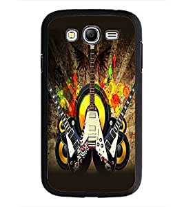 PrintDhaba Guitar D-5411 Back Case Cover for SAMSUNG GALAXY GRAND I9082 (Multi-Coloured)