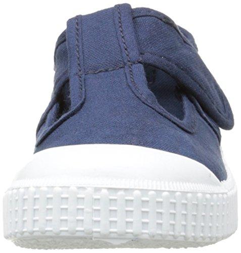 Victoria - Sandalia Lona Tintada Velcro, Scarpe da ginnastica Unisex – Bambini Bleu (30 Marino)