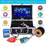 KKMOON 15M Unterwasser Fisch Finder HD 1200TVL Wasserdicht Kamera für Ice/Meer/Fluss Angeln mit 7in LCD Monitor