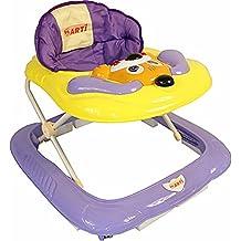 Andador para bebés regulable en altura con juguetes y sonido ARTI 02 Perro de color azul claro