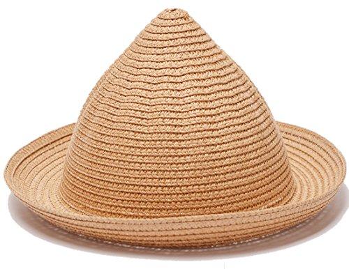 belsen été Lave-vaisselle pointu chapeau enfant Princesse Chapeau de paille Chapeau Casquette Kaki
