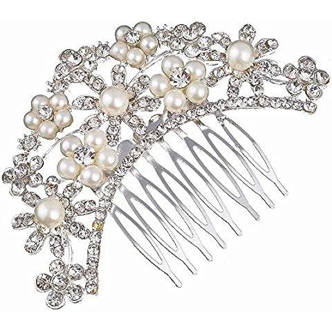 F&HY&L Fiore di cristallo perle di moda