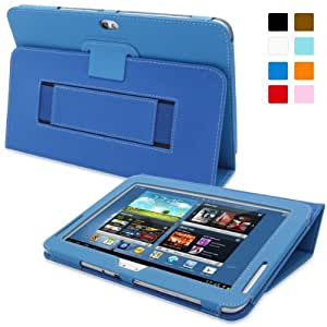 Snugg™ - Étui Pour Samsung Galaxy Note 10.1 - Smart Case Avec Support Pied Et Une Garantie à Vie (En Cuir Bleu Foncé) Pour Samsung Galaxy Note 10.1
