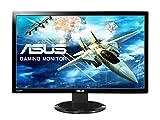 Asus VG278HV 68,6 cm (27 Zoll) Monitor (VGA, DVI, HDMI, 1ms Reaktionszeit, Full HD) schwarz