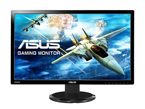 ASUS Computer Asus VG278HV 68,6 cm (27 Zoll) Monitor (VGA, DVI, HDMI, 1ms Reaktionszeit, Full HD) schwarz