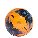 adidas Herren Fussball Team Match Winter, solar orange/Black/Blue, 5