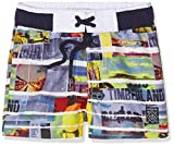 Timberland Baby-Jungen Badeshorts T04860, Mehrfarbig (Unique), 98