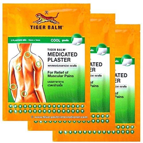 9X Tiger balm erfrischenden Patch Patch Plaster Cold Medicated Pain Relief Importiert von Allasiangoods (Balm Tiger Patch)