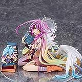 lunanana No Game No Life Action-Figur Schwi Figur Jibril Shiro Figur 1:7 Maßstab PVC Figur Vinyl-Figur Anima-Liebhaber, American Football, Jibril 13 cm