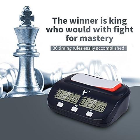 CkeyiN;Digital Display Schachuhr Count-Down Timer für internationales Schach, chinesisches Schach,