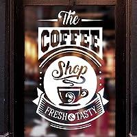 Wall4stickers Coffee Shop Tasty Takeaway Cup Window Sign Vinyl Sticker Graphics Cafe Shop Salon Bar Restaurant