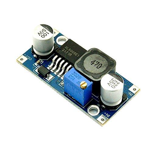 Hrph Neue XL6009 DC Boost Einstellbare Aufwärtswandler Modul 4A Solar Voltage Board -