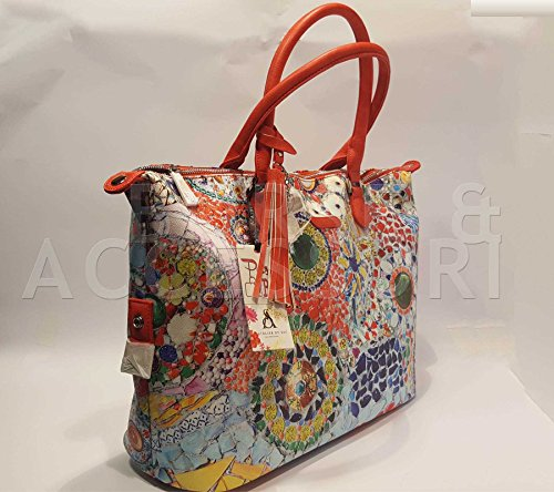 PashBag Borsa Donna Menton Diamond Feels 5124 Pash Bag Atelier Du Sac fantasia