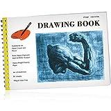 Skizzenbuch 50 Blatt mit Spirale, 100 g/m2 - DIN A4 - Drawingbook-Block