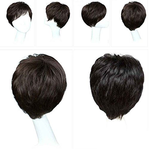 Xuanhemen-Fashion-Sexy-Women-Ladies-Party-Cosplay-Short-cheveux-naturels-Full-Wigs