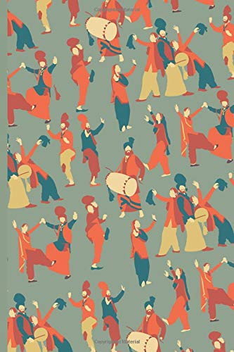 Indian Classical Dance Journal: Keeping Track of Bhangra Bharatanatyam Classes for Dancer Student Instructor Teacher