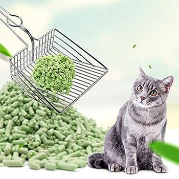 Abracing Chats Litière Pelle Outil De Nettoyage pour Animaux De Compagnie Pelle en Métal Pelle pour Chaton