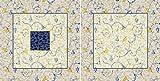 Bassetti OPLONTIS V9N Kissenhülle, Satin, Mehrfarbig, 60x60x0.5 cm
