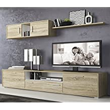 Amazon.es: muebles de salon color madera