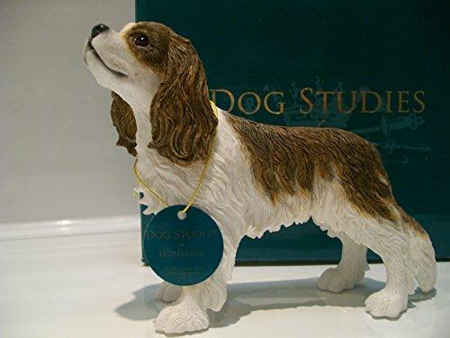 Cavalier King Charles Spaniel Ornament Figur Figur Marke Neu Geschenk verpackt-Leonardo Collection -