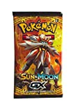 #8: NPRC Pokemon Booster Sun&Moon GX 10 Cards All New Pokemon Sun&Moon Cards for kids (Random pack & non licensed)