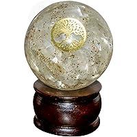 Crocon Selenit Energetische Sphere Ball Tree of Life Symbol Energie Generator für Reiki Healing Chakra Balancing... preisvergleich bei billige-tabletten.eu