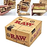 Scoria® King Size RAW Classic Rolling Paper 3 Full Box Pack Of 150 (4800 Leaves)