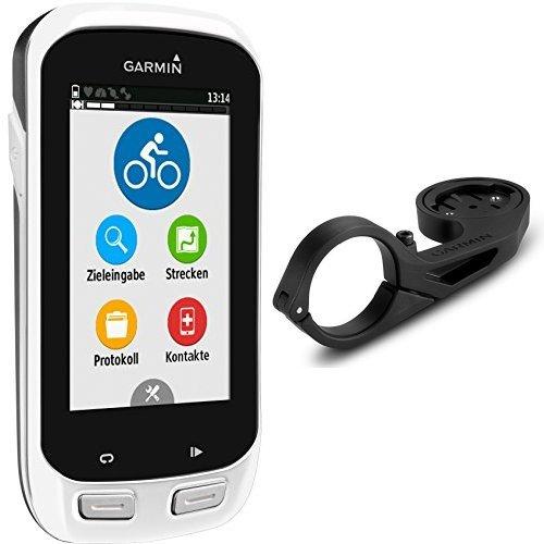 Garmin Edge Explore 1000 Fahrrad-Navi (ANT+, Europa Fahrradkarte, hochauflösendes 7,6cm (3 Zoll) Touchscreen-Display) & Garmin Edge Aero Fahrrad-lenkerhalterung für Edge Geräte mit optimaler Positionierung im Sichtfeld des Fahrers