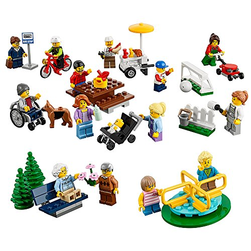 LEGO City Town 60134 Fun in the park - City People Pack Building Kit (157 Piece) by LEGO (City Park Lego)