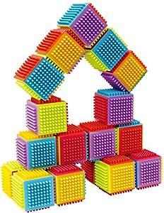 Little Hero Juego Bloques Construcción Colores Bricks 20 Piezas (Totideas 20503024)